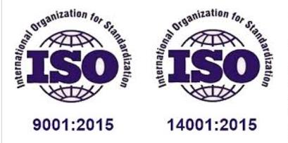 ISO 9001 ja ISO 14001 päivitys